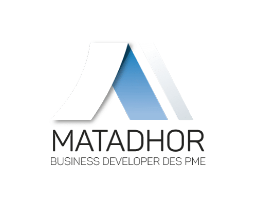 Logo Matadhor avec baseline Business Developer des Pme